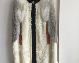Givenchy fur cape fall winter 2016 new with tags