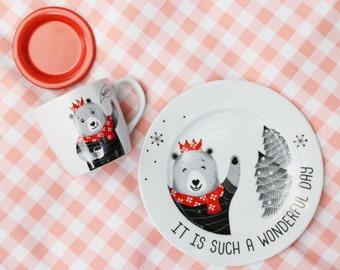 Happo Bear - Dinnerware set
