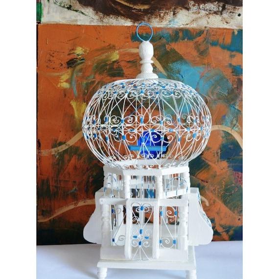 Bird cage bird cage decor decorative bird cage by for Cage a oiseau decorative