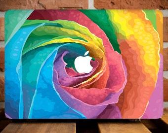 Colorful Roses MacBook Pro 15 Case MacBook Air Case Mac Pro Retina 13 Cover MacBook 12 Case Hard Plastic Laptop Cover MacBook Air 11 WCm144