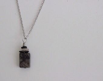 Grey Stone Pendant