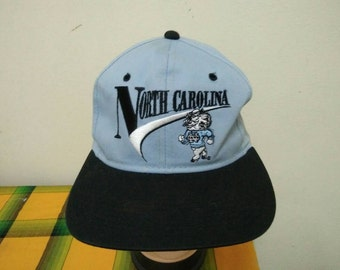 Rare Vintage NORTH CAROLINA Tar Heels Cap Hat Free size fit all