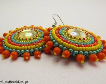 Make your own sun /earrings