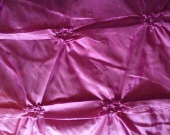 Taffeta Fabric in fuchsia pink