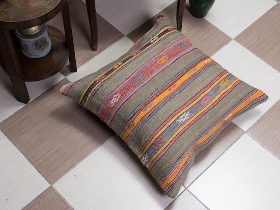 Items similar to PAYPAL, Large Size Pillow, kilim pillow, Decorative pillow, Vintage pillow,Boho ...