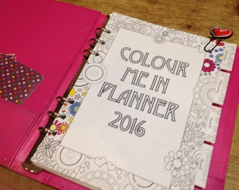 The Planner that's a Colouring Book Too!