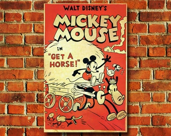 Disney Mickey Mouse Movie Poster - #0701