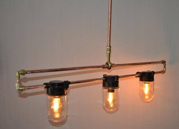 SOLD Hanging Multiple Pendant Hanging Pendant Light