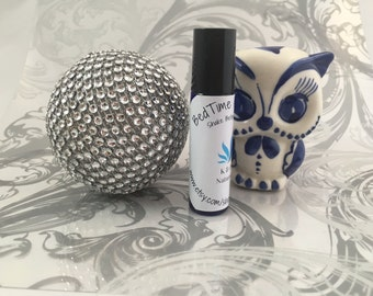 Bed Time Essential Oil Roll On, FREE SHIPPING -help promote a good nights sleep, 10ML, vegan, oil roll on