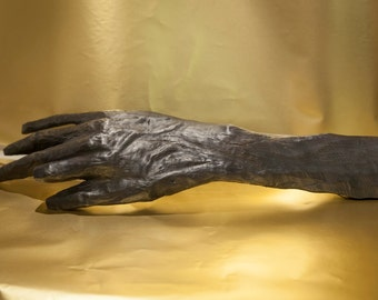 Hand of Nuada - Irish Bog Oak Sculpture