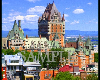 Beautiful Canada Quebec City Chateau