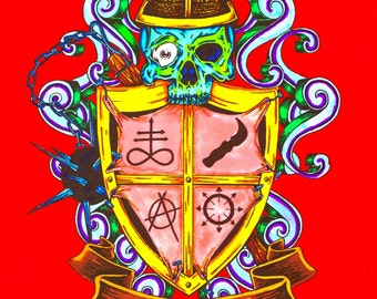 Duffy family crest color
