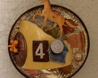 4 the Horse mosaic