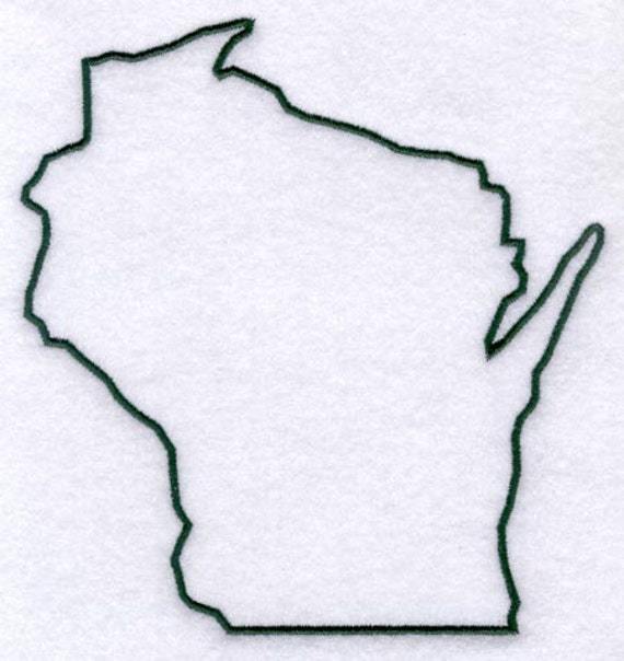 Wisconsin Stencil Made From 4 Ply Mat Board By