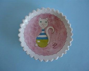 Ceramic bowl- serving bowl- handmade bowl-MADE TO ORDER
