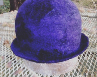 Hand Felted Hat