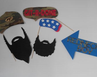 Redneck Photo Booth Props