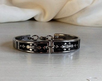 Spoon Bracelet  gothic design