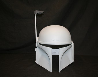 Mandalorian Mando Jango Fett  Style Plastic Resin Helmet/Bucket Fan-Made Prop 1:1 Scale Cosplay Comic Con Cosplay LARP Ready