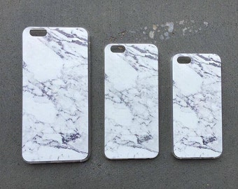 Marble Phone Case - Marble Printed -iPhone 5/5s, 6/ iPhone 6s, iPhone 6s Plus/6 Plus - Soft Case -Best protection