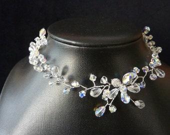"""Bridal Necklace """"Irena"""" 2"""