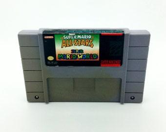 Super Mario All-stars And Super Mario World - Snes