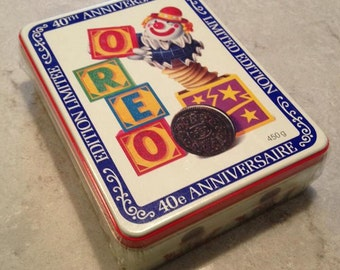 Collectible Oreo Tin