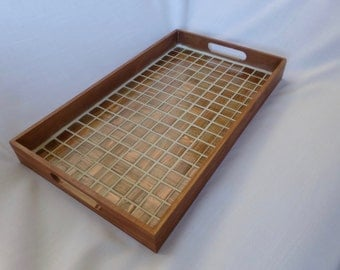 Tiled Wood Tray