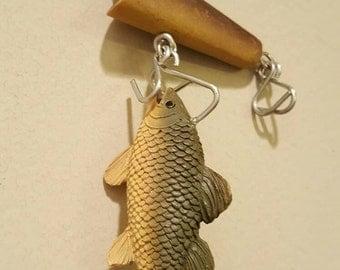 Fish hook ornament