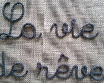 First name or 10-Letter Word for wool at the knitting