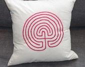 Labyrinth Meditation Cushion