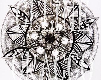 Mandala African Wax