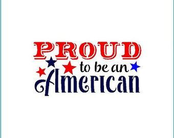 Patriotic Phrase VI Stencil by 2T's