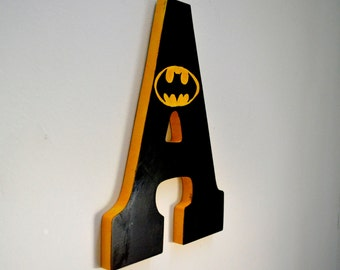 "Batman 9"" Custom-Painted Wall Letters"