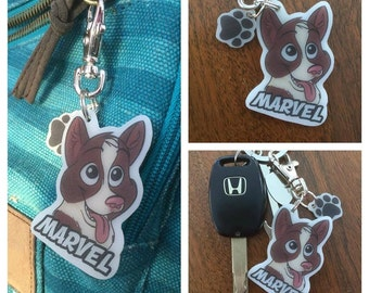 Marvel, The Super Collie Keychain!