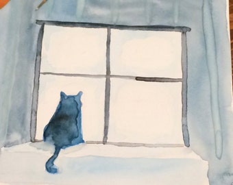 Original Cat Art