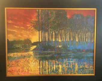 """Ford smith """"positive outlook"""" painting huge!! Willing to negotiate!"""