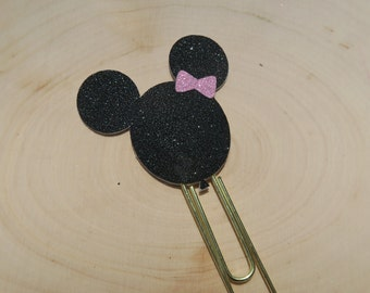 Minnie Mouse balloon planner clip