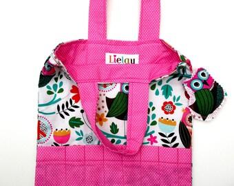 Crayon Tote, Crayon Bag, Art Tote, Activity Bag, Coloring Book Bag, Kids Bag