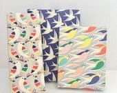 Bird wrapping paper / 6 sheets / Gift wrap / Digitally Printed / 50cm x 70cm / Bird pattern / Bird illustration/ UK printed