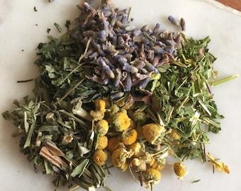 Sleep time herbal tea blend