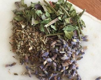 Crown chakra herbal tea blend