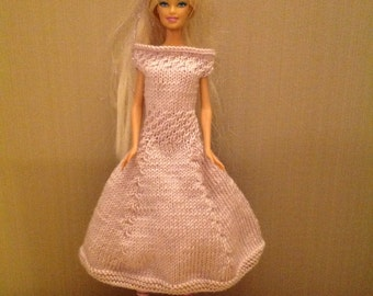 Lilac Barbie dress