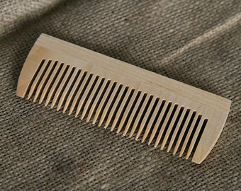 Wood comb Wooden comb Hair comb Anti static comb Wooden hairbrush Mother gift Hair care Small comb Handmade comb  Eco friendly comb Gift