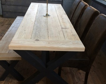 Dinning table and bench
