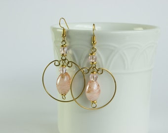 Elegant dangle Earrings // Kenyan Made