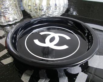 COCO CC Fashion Designer Inspired Jewelry Trinket Dish!