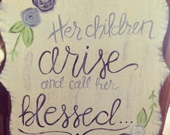 Mother's Day Scripture Wall Hanging