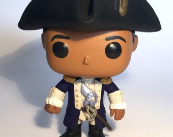 Custom George Washington Hamilton Musical Funko Pop