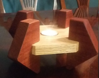 Custom Tea Light Candle Holder
